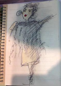 Zeichnung von Petra Mueller