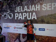 Finish at Merauke Indonesia
