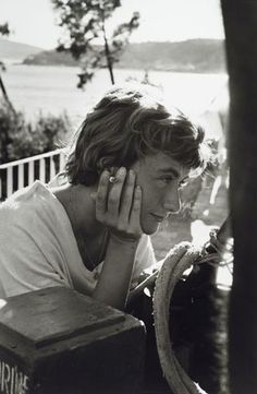 Françoise Sagan - even young women writers have Gallic flair when it comes to smoking.