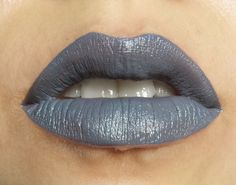 Cult Insomnia is our namesake shade- a true slate gray (no violet tones here) lipstick with a semi matte finish that is certain to start a cult