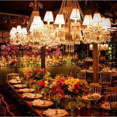 Decor para mesa de jantar por @ronivieirafestas