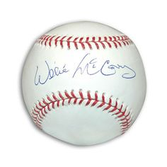 Willie McCovey Signed MLB Baseball - MLB Authenticated signed autographed