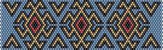 схема мозаичное плетение браслет