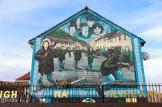 Murals on Belfast Taxi Tours: A Tour through the Troubles: http://www.beyond-london-travel.com/Belfast-Taxi-Tours.html