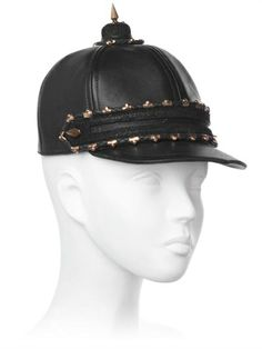 Leather Equestrian Hat With Spike on shopstyle.com