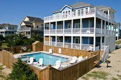 HATTERAS Vacation Rentals | Atlantis - Oceanside Outer Banks Rental | 809 - Hatteras Rental