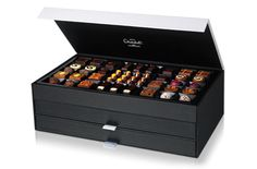 I didn't order this but would have loved to.  What £160 worth of luxury chocolate looks like.