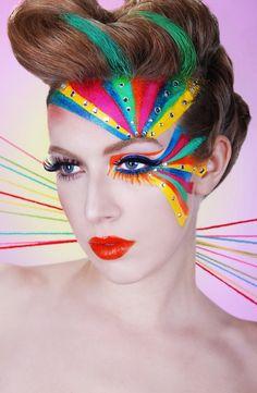 RAINBOW Beauty - Laura Jacobs MUA Melissa Anchondo