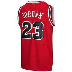 3b5f4c4cb MTBD NBA Michael Jordan NO.23 Bulls Retro Camiseta de Jugador de básquetbol  Bordado Transpirable