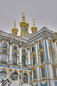 The Catherine Palace, St Petersburg, Russia