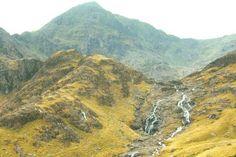 Mt. Snowden in Wales