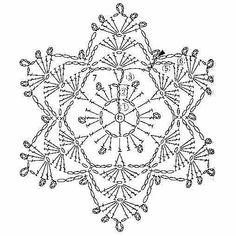 Crochet Pattern – Angel with Gold Trim Crochet Angels, Crochet Stars, Crochet Round, Thread Crochet, Irish Crochet, Crochet Flowers, Crochet Stitches, Crochet Snowflake Pattern, Crochet Snowflakes