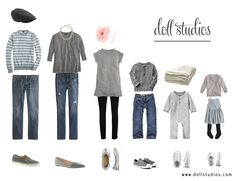 What to Wear: Fall Photo Session: gray and jeans. Family Photo Colors, Family Photo Outfits, Family Pictures, Clothing Photography, Fashion Photography, Photography Outfits, Family Photography, Fall Photos, Your Photos