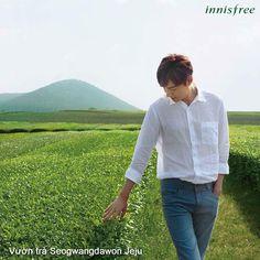 Lee Min Ho for Innisfree Lee Min Ho, Dance Sing, Man Lee, Kim Joon, City Hunter, Boys Over Flowers, Minho, Korean Actors, Korean Drama
