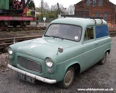 Seen anything interesting? Ford Classic Cars, Classic Trucks, British Police Cars, British Car, Ford Anglia, Little Truck, Day Van, Mini Bus, Cool Vans