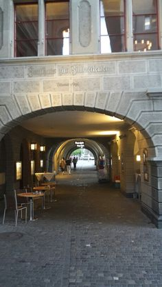 Passage in Zürich