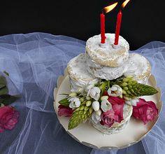 Coisas simples são a receita ...: Queijinhos do céu para o 2º aniversário do blogue