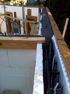 Icf for floors roofs quad deck insulating concrete for Icf texas