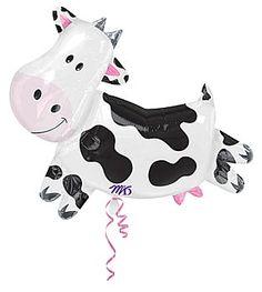 cute western baby shower balloon