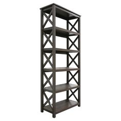 Threshold™ 5 Shelf X Bookcase