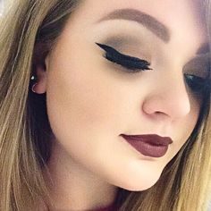 Makeup of the Day: bold lip by MVlad. Browse our real-girl gallery #TheBeautyBoard on Sephora.com and upload your own look for the chance to be featured here! #Sephora #MOTD
