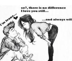 love should transcend gender :)