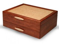 Everything from the hand-picked hardwoods to the expertly-crafted mitered corners to the artist's signature on the bottom begs the owner of this box to remember its true quality. Made in USA. - Soft s