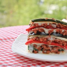 Diet Lasagna by mypansandpots: Fit and yummy. Scroll down the page for the English version. #Diet #Lasagna #Diet_Lasagna #mypotsandpans