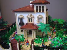 LEGO villa  #lego Lego A LEGO A Day