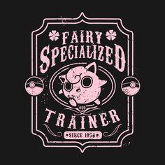 Fairy Specialized T-Shirt - The Shirt List Pokemon Jigglypuff, Cute Pokemon, Black And White Posters, Cyberpunk Art, Pokemon Pictures, Cute Disney, Game Art, Fairy, Internet Friends