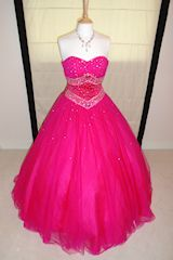 A #transvestite dream to wear a shocking pink ball gown