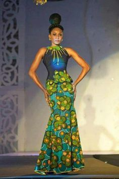 African fashion show.