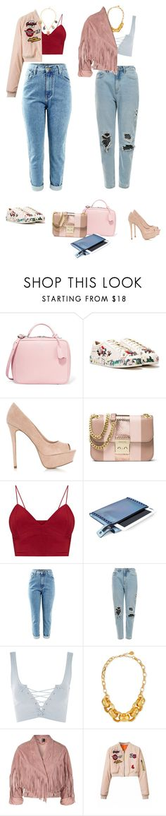 """""""I wish"""" by audrey-balt ❤ liked on Polyvore featuring Mark Cross, Nasty Gal, MICHAEL Michael Kors, Mohzy, Topshop, Devon Leigh and Carolina Bucci"""