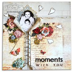 Scrapbook page by Ola