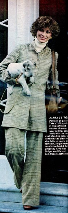 Ladies Home Journal - January, 1977 1977 Fashion, Flannel, January, Journal, Shirts, Men, Flannels, Guys, Dress Shirts