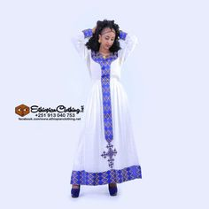 eritrean traditional zuria online, Handwoven fabric Hand embroidered Includes netela/shawl Made to order Processing time 2 – 4 weeks Measurement required Wedding Dresses Plus Size, Wedding Dress Styles, Designer Wedding Dresses, Traditional Wedding Dresses, Traditional Outfits, Ethiopian Traditional Dress, Ethiopian Dress, African Wedding Attire, Wedding Dress Gallery