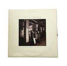 "The Blue Nile ""A Walk Across the Rooftops"" vinyl record album new wave LP 1980s scotland cult classic"