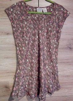 Kup mój przedmiot na #vintedpl http://www.vinted.pl/damska-odziez/tuniki/16208655-wzorzysta-tunika-z-falbanka-masai-r-l