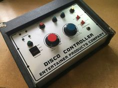 Disco controller early DJ mixer