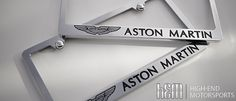 Aston Martin License Plate Frames
