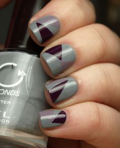 triangle detail nails