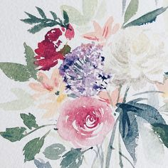 A quick afternoon sketch of some flowers on my desk. #flowers #watercolorpainting #watercolorflowers #winsorandnewton #illustration #illustrator #onmydesk Art Diary, Watercolor Flowers, Watercolor Paintings, Twine, Illustrator, Journal Art, Watercolour Paintings, Newspaper Art, Watercolors