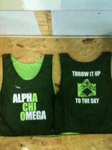 Alpha Chi Omega Throw it up to the sky.. WANT! cool jersey