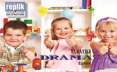 Replik Sanat Eğitimleri Kurumu'nda 1 Aylık Yaratıcı Drama Eğitimi 29 TL (250 TL değerinde) Eğitim Grupları 5 - 8 yaş yaratıcı dra