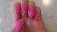 spring flower nail Flower Nails, Spring Flowers, Nail Art, Painting, Beauty, Beleza, Paintings, Nail Arts, Draw