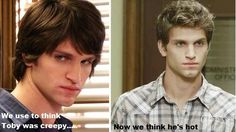 ahaha. what a makeover! I <3 Toby.