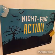 """Denglisch - """"Nacht und Nebel Aktion"""" - die kostenlose MyPostcard App - #mypostcard #denglisch"""