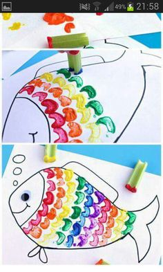 Great idea for Rainbow Fish
