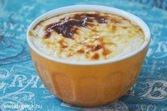 Ínycsiklandó török desszert: sült tejberizs | Életszépítők Sweet Breakfast, Pudding, Food, Essen, Puddings, Yemek, Meals