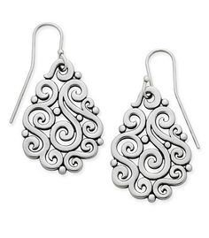 Open Sorrento Ear Hooks | James Avery -- they're on my ears now!!